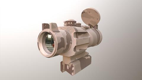 Scope X2 3D Model