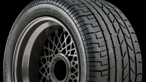 Pirelli Asimmetrico (F40 / Diablo) 335/35R17 • 245/40R17 (Real World Details)