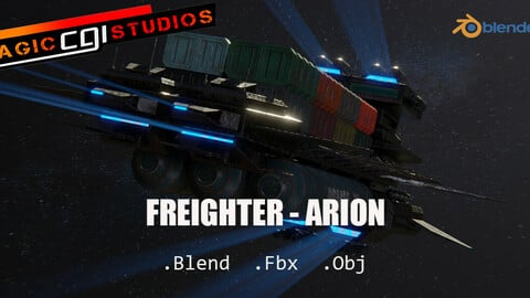 Freighter Arion Class Cargo Vessel