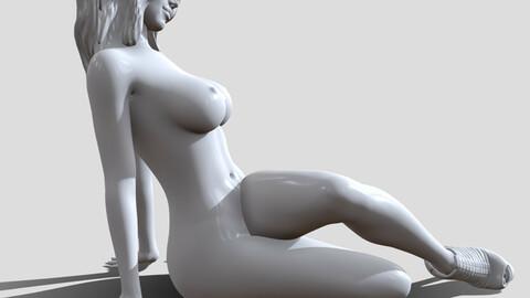 Woman nude 3d printable model