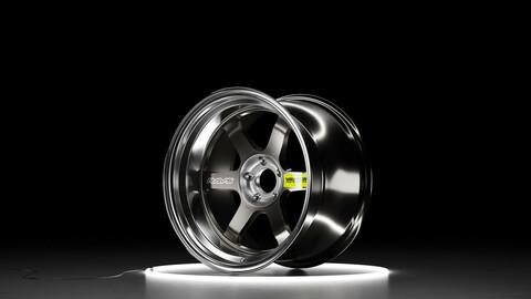 RAYS VOLK RACING TE37VSL Car wheel 3D model
