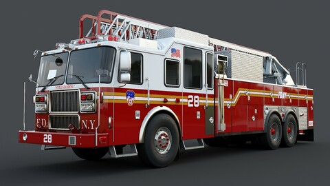 Fire Truck Ladder FDNY