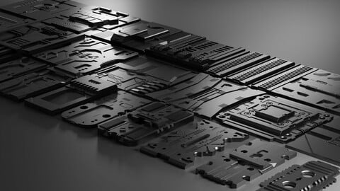 Hard Surface Panels Volume 1