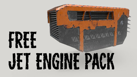 Jet Engine Pack (free) vol.1