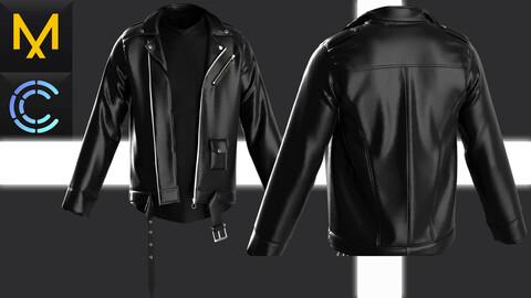 New concept Marvelous Clo3D Leather Jacket