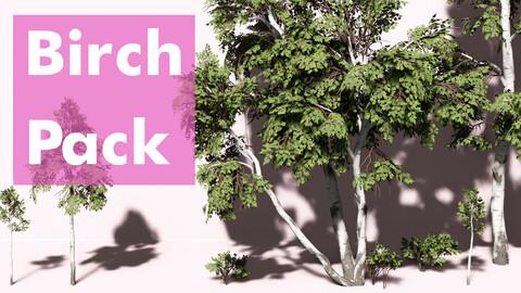 Stylized Birch Pack