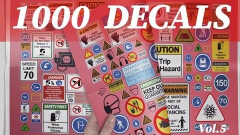 1000 Decals vol.5