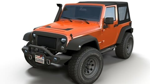 Jeep Wrangler custom offroad