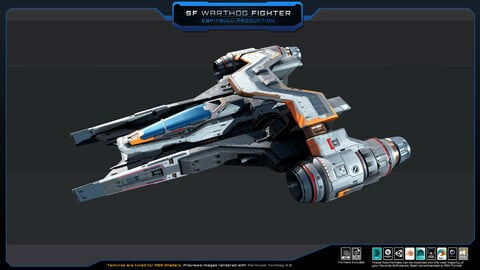 SF Warthog Fighter