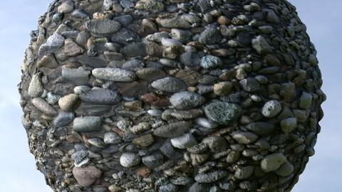 Gravel 30 PBR Material