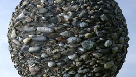Gravel 31 PBR Material