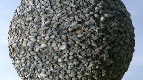Gravel 32 PBR Material