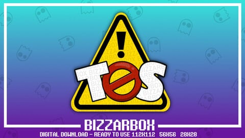 Twitch Emote: TOS Warning Sign