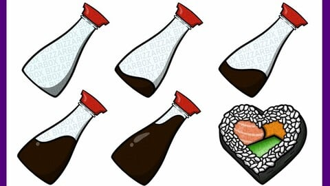 Twitch Sub Badges: Soy Sauce and Sushi