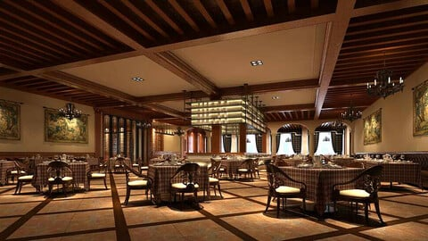 Restaurant teahouse cafe drinks clubhouse 104