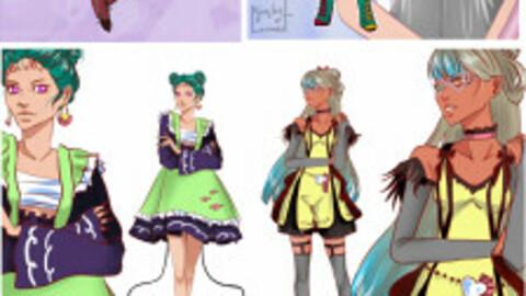 Original characters pack 1