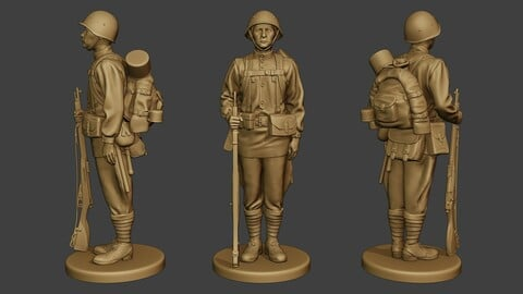 Russian soldier ww2 Attention R1