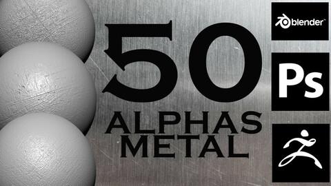 50 Alpha Metal Simulation Package