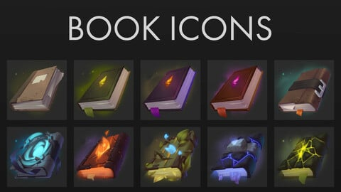 Book Icons Pack