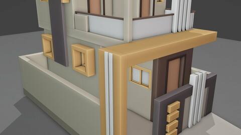 Exterior project , blender workbench render