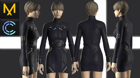 New concept Marvelous Clo3D Dress Female