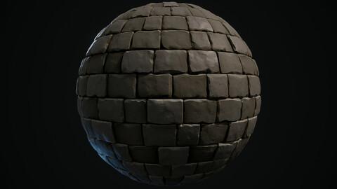 Stylised Bricks Wall Texture