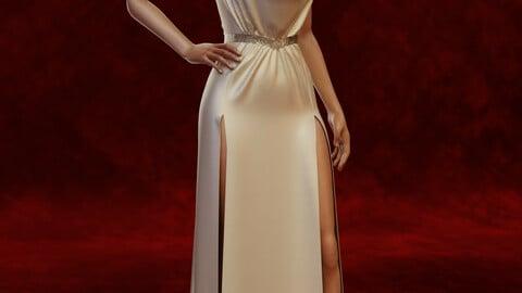 Classy Bridal Dress