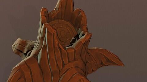Stylized Tree Trunks - FBX