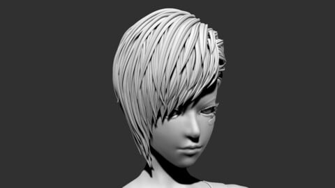 Cyberpunk Hair