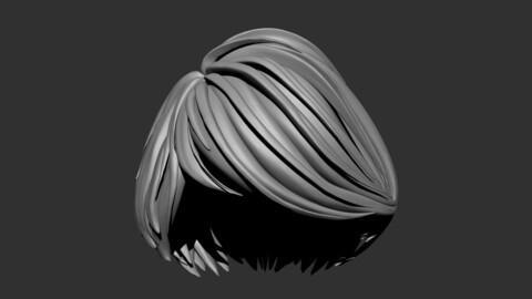 Female Short Hair Style