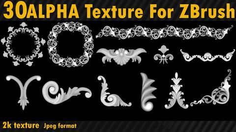 30 Ornament Alpha Texture
