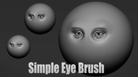 Simple Eyes Brush