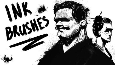 INK - Photoshop Brushes