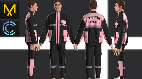 New concept Marvelous Clo3D Outfit Male# 22