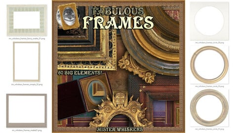 Mister Whiskers' Fabulous Frames - a graphics pack