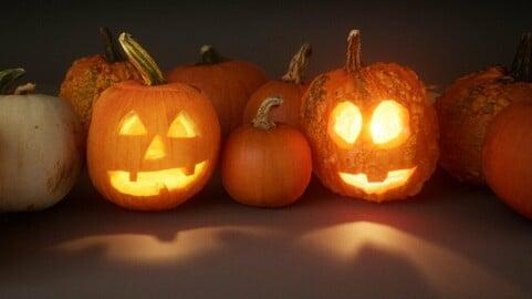 Halloween Pumpkins [UE4 4.24+]