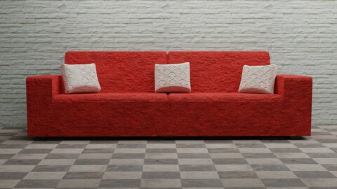 Red Family Couch