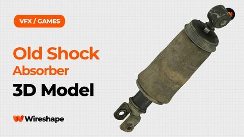 Old Shock Absorber Raw Scanned 3D Model
