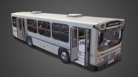 Bus - Low poly