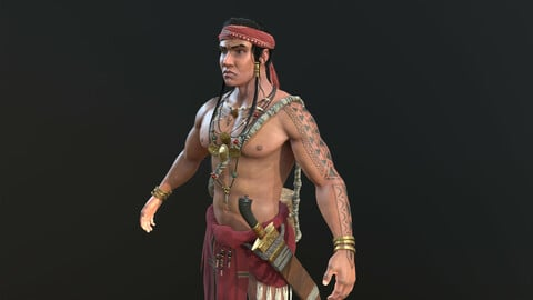 Lapu-Lapu real-time character