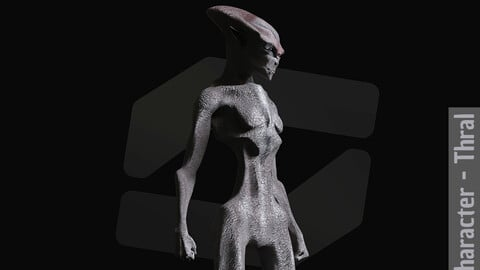 Realistic Alien - Thral