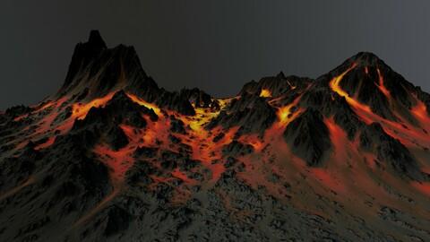 Volcano Terrain