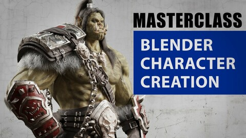 Blender Character Creation Tutorial - Orc Warrior