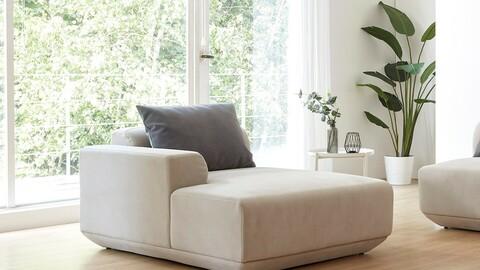 Bund Dozen Quorum Eco-Clean Modular Sofa Couch