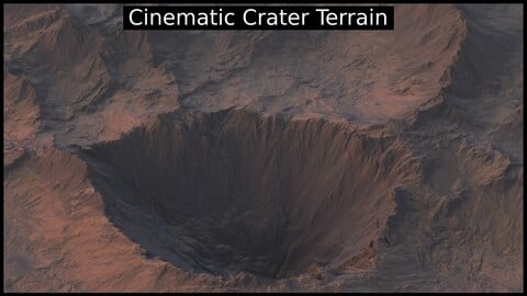 Cinematic Crater Terrain