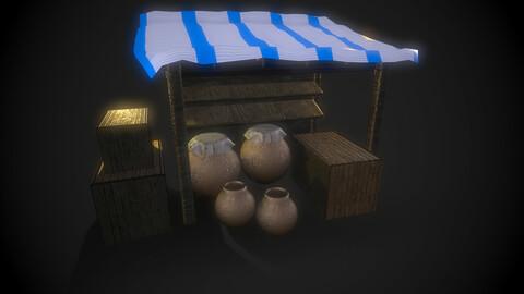 Ancient Shop Assets