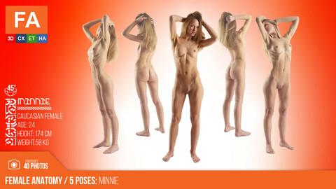 Female Anatomy | Minnie 5 Various Poses | 40 Photos #2