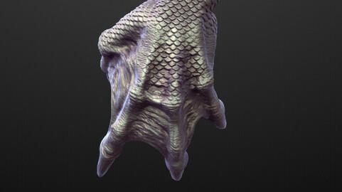 ARM21 high poly sculpt