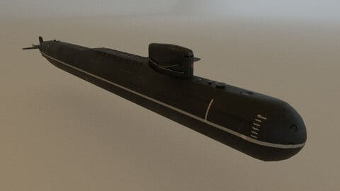 Russian Nuclear Submarine (Project 667)