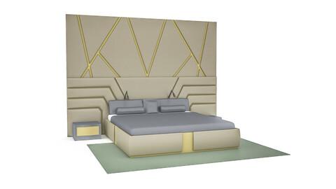 classic bedding set 3D